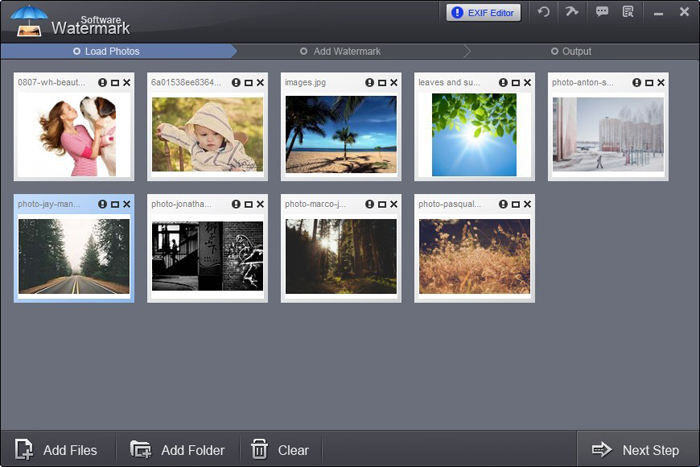 Powerful EXIF editor – Watermark Software