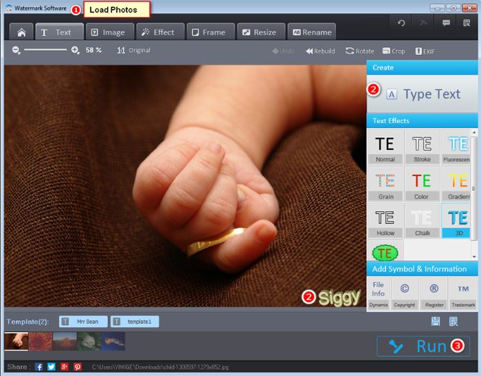 Best photo watermark software operations