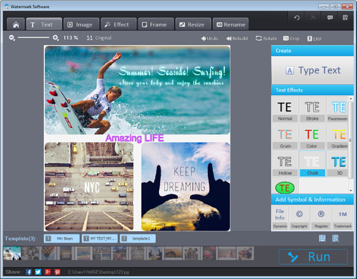Best Watermark Maker Interface