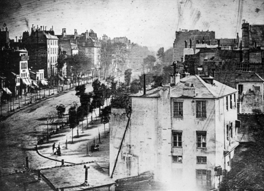 Daguerre famous long exposure photos