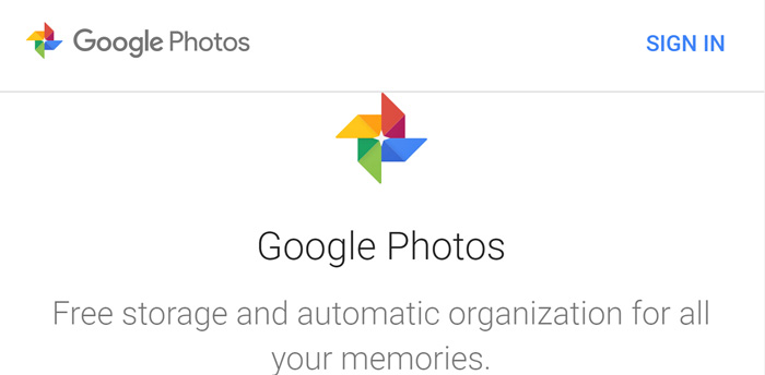 Google Photos - the best free photo sharing application