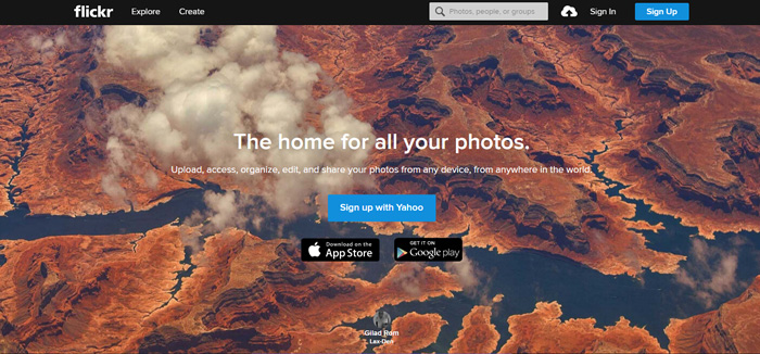 Yahoo Flickr among the best photo sharing sites